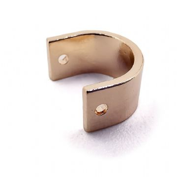 Champagne Gold, Horseshoe Connector x 10 - 10mm x 8mm
